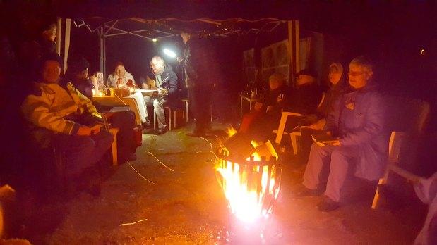 Lebendiger Adventskalender – Nikolaus in derNotunterkunft