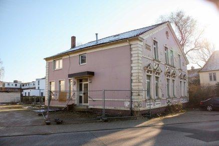 Ein Erhalt des Gebäudes war teil des Bebauungsplans. In der Schlosserei sollen zusätzlich zwei Wohneinheiten entstehen.