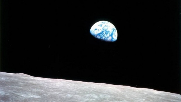 """Heute vor 50 Jahren – """"Earthrise"""""""