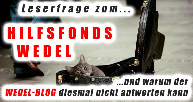 LEserfrage Wedel-Fonts