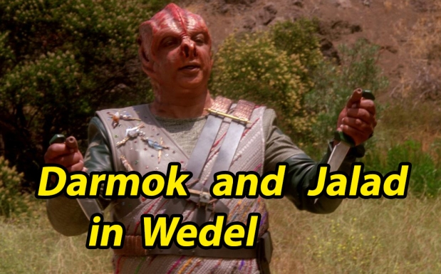 Kolumne: Darmok and Jalad in Wedel